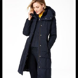 Women's Cole Haan Box-Quilt Down Puffer (NWTS)